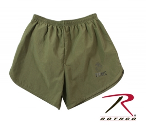 Rothco USMC Olive Drab Physical Training Shorts - 6027