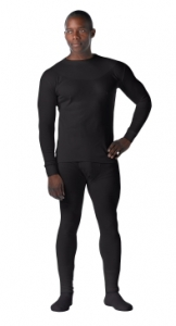 Rothco Black Fire Retardant Thermal Bottoms - 61010