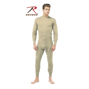 Rothco Desert Sand Military ECWCS Silkweight Thermal Tops - 62020