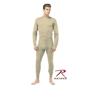 Rothco Desert Sand Military ECWCS Silkweight Thermal Bottoms - 63020
