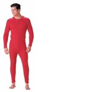 Rothco Mens Union Suit - Red - 6453