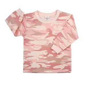 Rothco Infant Baby Pink Camouflage Longsleeve T-Shirt - 6862