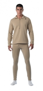 Rothco Desert Sand E.C.W.C.S. Gen III Mid-Weight Thermal Bottoms - 69024