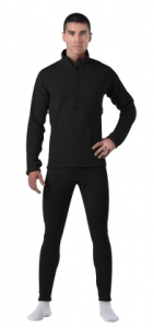 Rothco Black E.C.W.C.S. Gen III Mid-Weight Thermal Bottoms - 69034