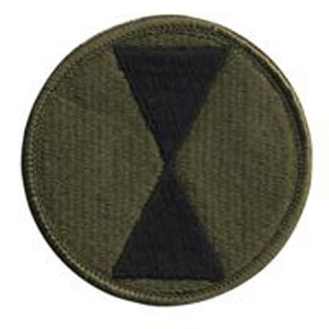 Rothco 7th Infantry Division Patch - 72136