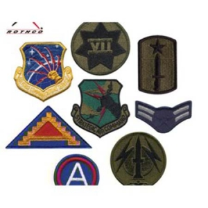 Rothco 50 Count Military Patch Assortment - 7489