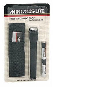 Rothco AA Mini-Maglite Holster Combo Pack - 768