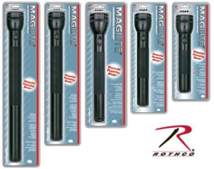Rothco 3 D-Cell Maglite Flashlight - 783