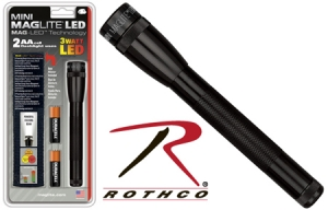 Rothco AA Mini Maglite LED Flashlight - 784