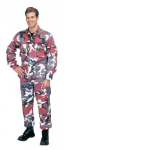 Rothco Red Camouflage BDUs - 7915