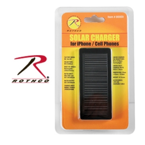 Rothco Cellphone or iPhone Solar Charger - 80000