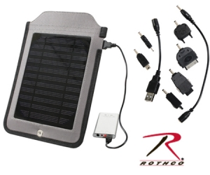 Rothco Multi-Functional Solar Charger Panel - 80005
