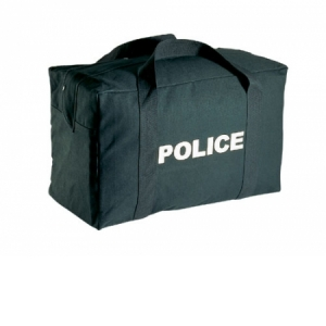 Rothco Police Logo Black Gear Bag - 8116