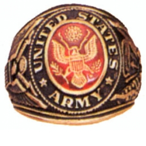 Rothco Army Deluxe Engraved Ring - 822