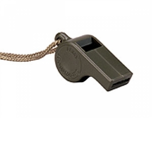 Rothco G.I. Style Olive Drab Police Whistle - 8300