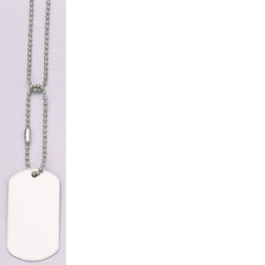 Rothco G.I. Type Silver Dog Tag - 8383