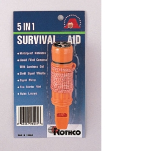 Rothco Deluxe 5-in-1 Survivor Kit - 8405