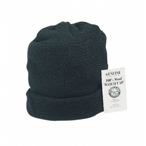 Rothco Genuine USN Black Wool Watch Cap - 8492