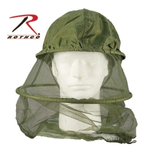 Rothco Olive Drab Mosquito Head Net with Hoop - 8533