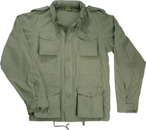 Rothco Sage Green Lightweight Vintage M-65 Field Jacket - 8731