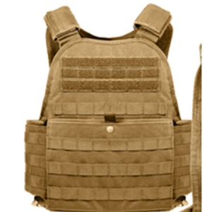 Rothco Coyote Brown M.O.L.L.E. Plate Carrier Vest - 8923