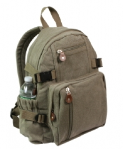 Rothco Olive Drab Vintage Compact Backpack - 9152