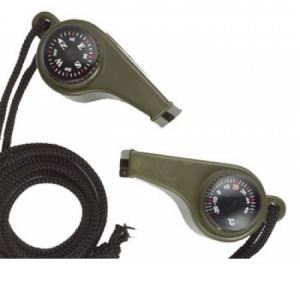 Rothco Super Whistle - Olive Drab - 9401