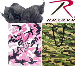 Rothco Camouflage Gift Bags-Large - 9904