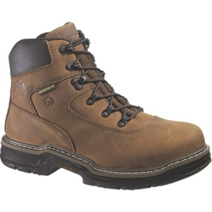 Wolverine Marauder MultiShox Contour Welt Waterproof 6 inch Steel Toe EH Lace Up Boot - W02161