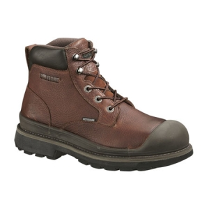 Wolverine Lawson Internal Metatarsal Guard 6 inch All Weather Welt Steel-Toe Slip Resistant Boot - W04659