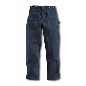 Carhartt Mens Original Fit Double-Knee Logger Jeans - Denim - B07