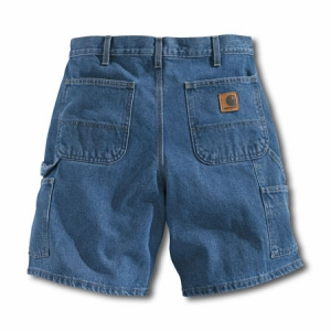Carhartt Mens Denim Work Shorts - Stonewash - B29