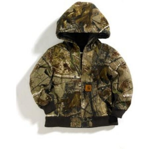 Carhartt Boys Camo Active Duck Jacket - Real Tree Camo - CP8418