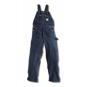 Carhartt Mens Denim Bib Overalls - Denim - R08
