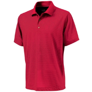 Charles River Mens Micro Stripe Polo Shirt - Red Micro Stripe - 3160