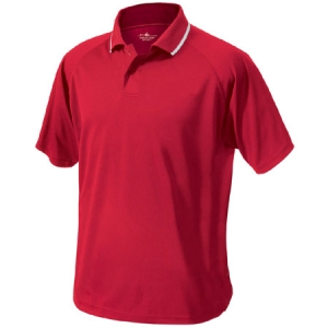Charles River Mens Classic Wicking Polo Shirt - Red - 3811