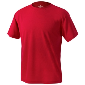 Charles River Mens Solid Wicking T-Shirt - Red - 3830