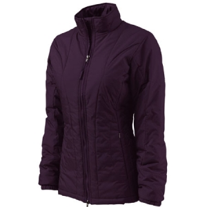 Charles River Womens Quilted Jacket - Grape - 5182