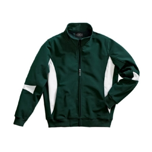 Charles River Stadium Soft Shell Jacket - Forest/White - 9024