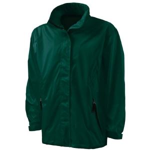 Charles River Thunder Rain Jacket - Forest - 9173