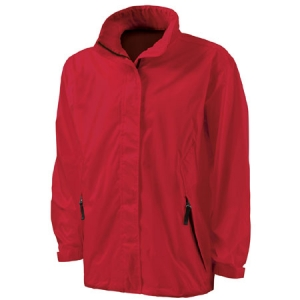 Charles River Thunder Rain Jacket - Red - 9173