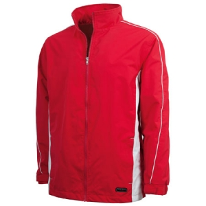 Charles River Pivot Jacket - Red/White - 9267