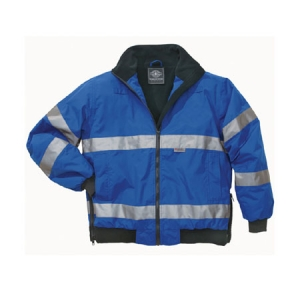 Charles River Signal Hi-Vis Jacket - Royal/Black - 9732