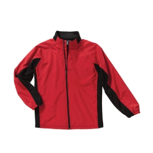 Charles River Synthesis Jacket - Red/Black - 9896