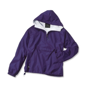 Charles River Classic Solid Pullover - Purple - 9905