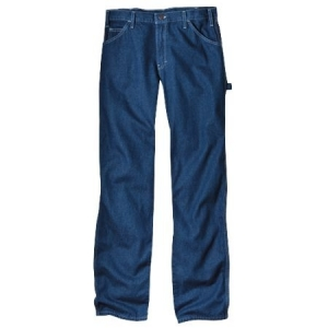 Dickies Mens Relaxed Fit Carpenter Jeans - Stonewash - 19294