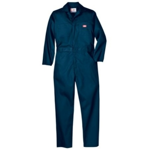 Dickies Mens Twill Long Sleeve Coverall - Dark Navy - 48611