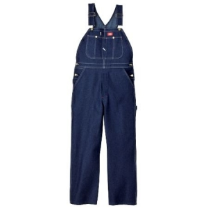 Dickies Mens Denim Bib Overalls - Indigo Blue - 83294