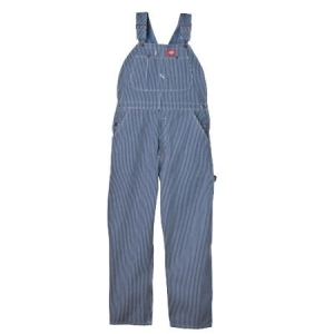 Dickies Mens Bib Overalls - Hickory Stripe - 83297