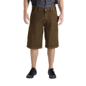 Dickies Relaxed Fit Denim Shorts - 11'' - Rinsed Timber - DR242